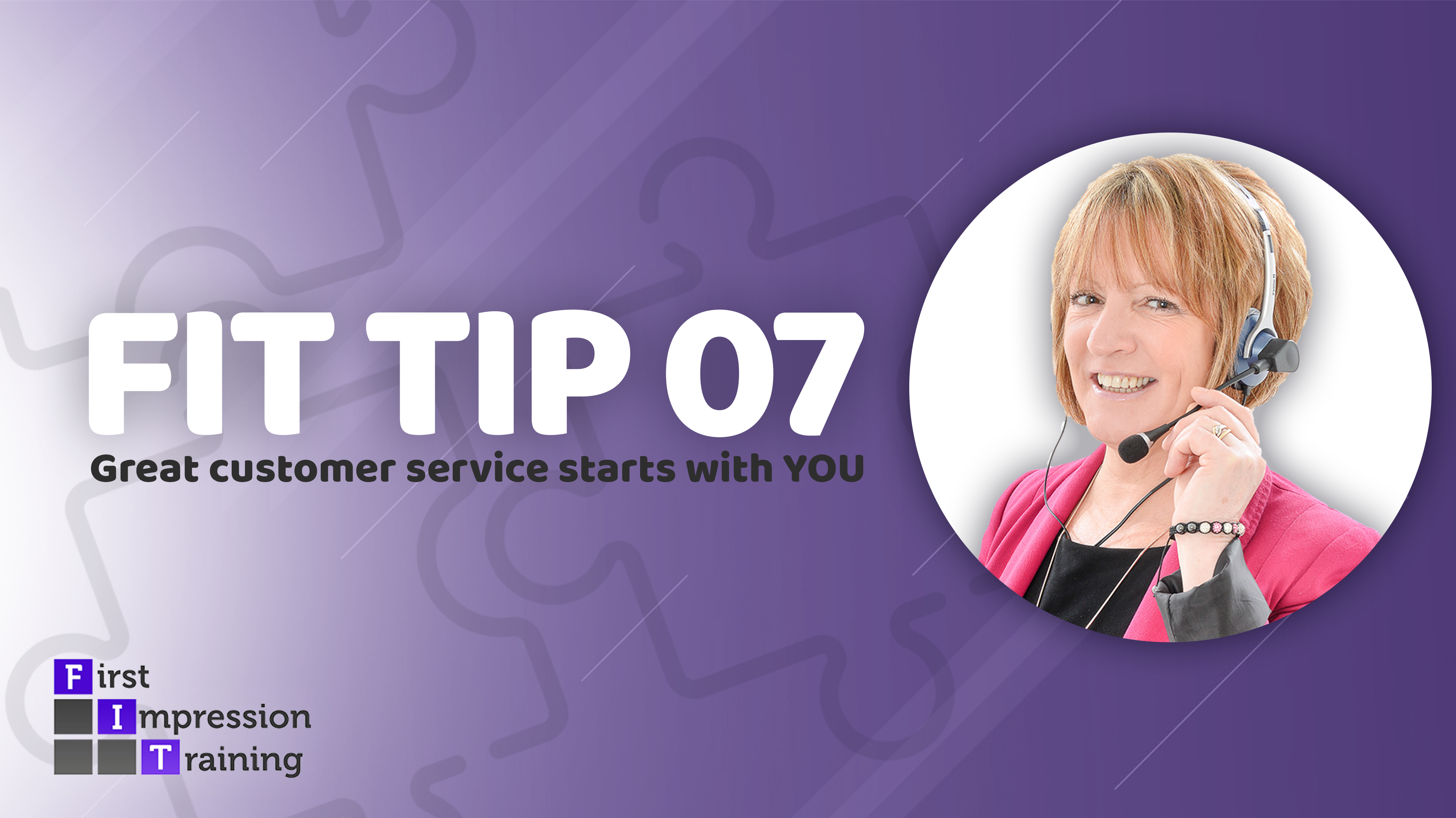 Great customer service starts with YOU!
