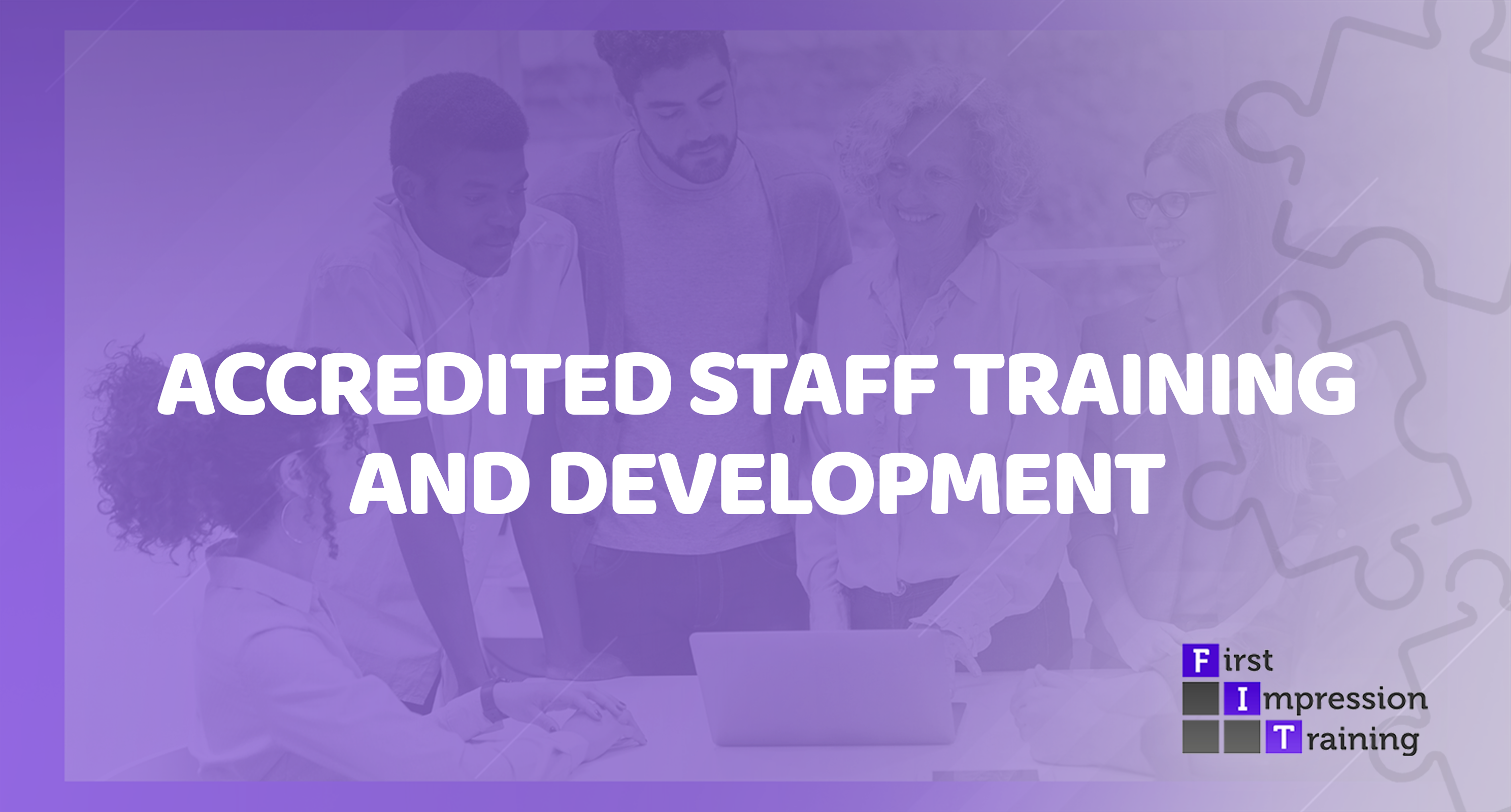 How can I get internal staff training officially accredited?