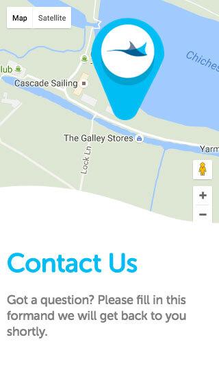 Manta Recruitment website on mobile