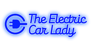 The Electric Car Lady Logo