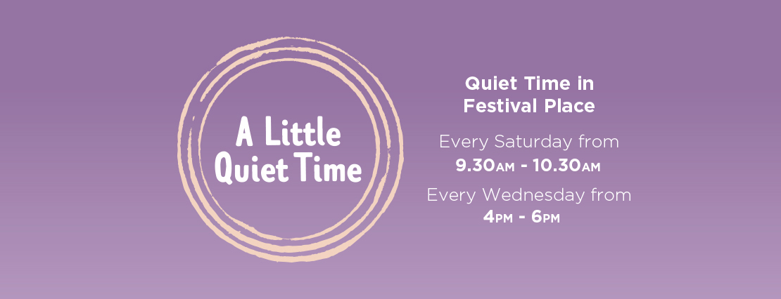 Quiet Time at Festival Place