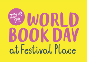 World Book Day, Festival Place, Basingstoke
