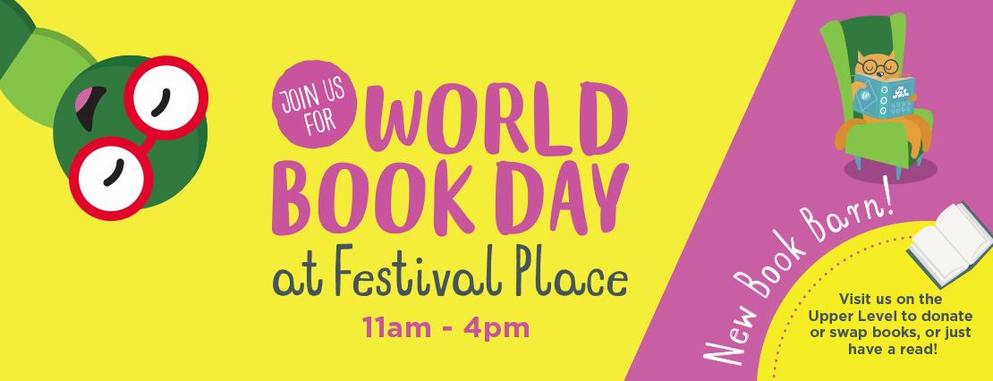World Book Day, Festival Place, Basingstoke