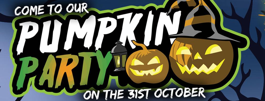 Pumpkin Party at Flip Out, Basingstoke, Hampshire.