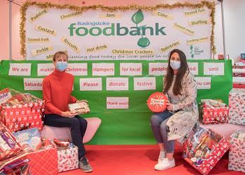 Christmas Food Bank Hampers, Festival Place, Basingstoke