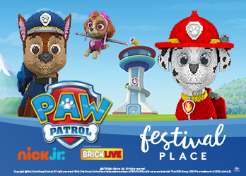 PAW Patrol Brick Live Tour, at Festival Place, Basingstoke