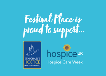 Hospice takes over Festival Place for awareness week