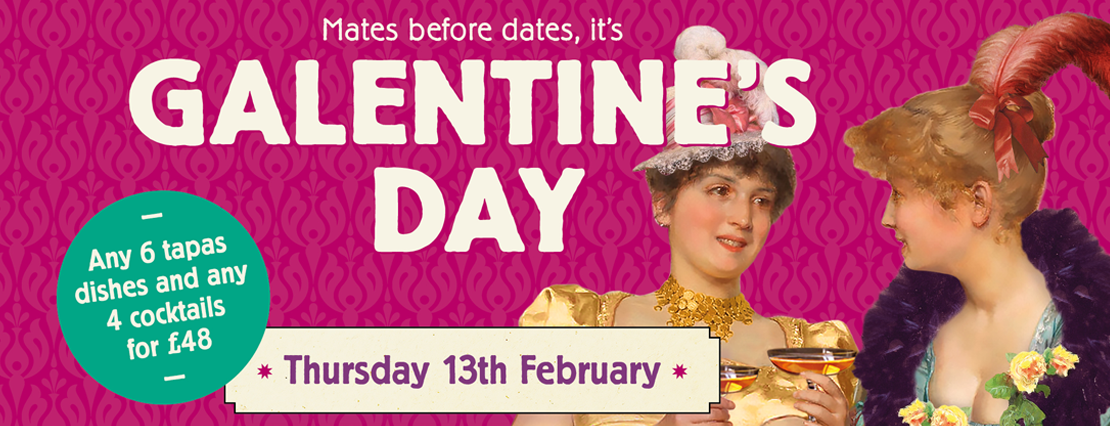 Galentine's Day at Cosy Club, Festival Place