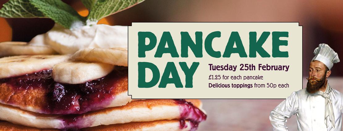 Pancake Day at Cosy Club