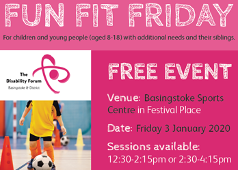 Fun Fit Friday at Basingstoke Sports Centre