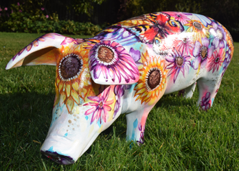 Hampshire Hogs Trail, Festival Place, Basingstoke, Hampshire