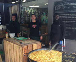 Festival Street Kitchen donates meals to NHS workers