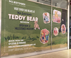 Festival Place bears news of exciting museum exhibition