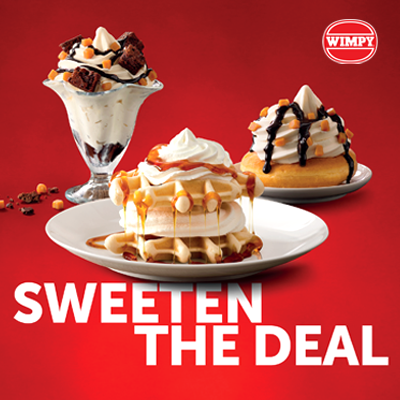 Free Desserts at Wimpy, Festival Place, Basingstoke