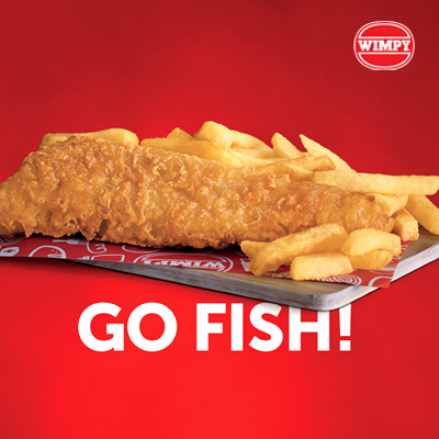 £7 Fish and Chips at Wimpy, Festival Place, Basingstoke