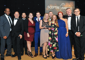 Festival Place scoops three top industry awards