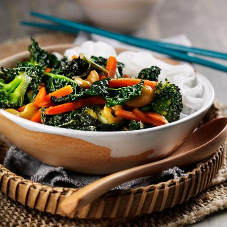 Picture of Cavolo Nero Noodle and Miso Stir Fry