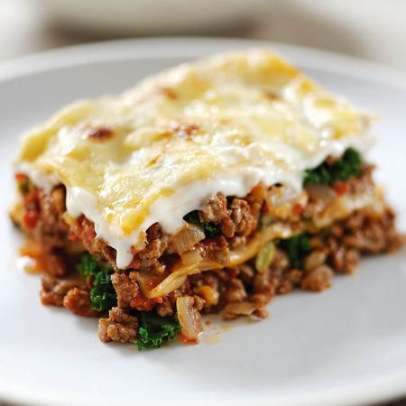 Beef & Kale Lasagne