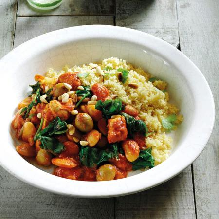 Picture of Chicken Spinach & Butter Bean Tagine