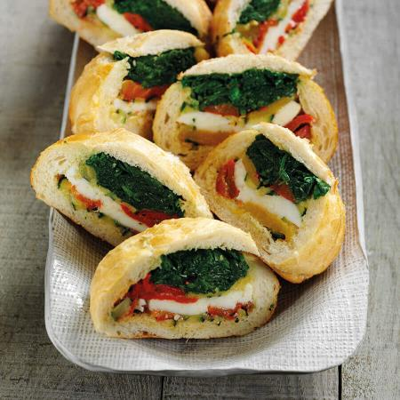 Picture of Mediterranean Spinach Rolls