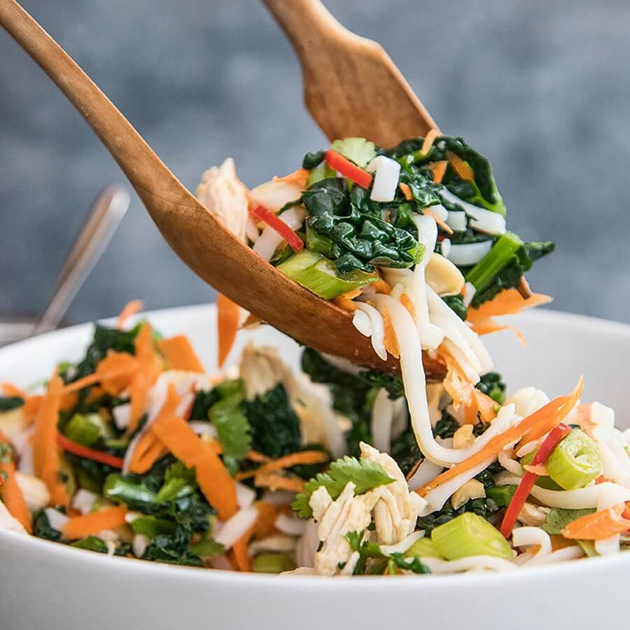 Picture of Asian Rice Noodle Salad