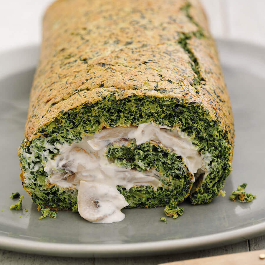 Picture of Cavolo Nero Roulade with Mushrooms