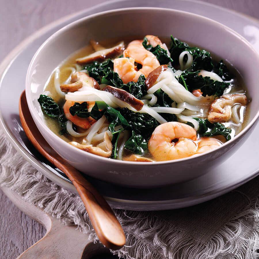 Picture of Prawn & Noodle Soup