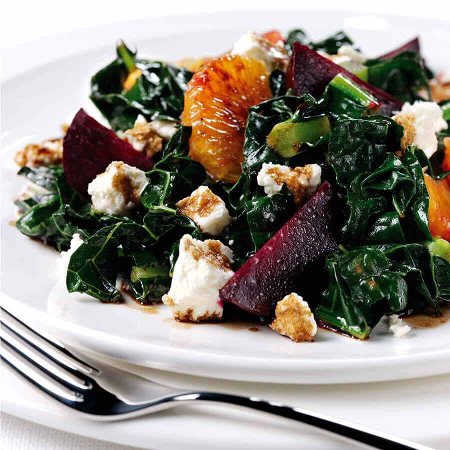 Picture of a Warm Winter Salad