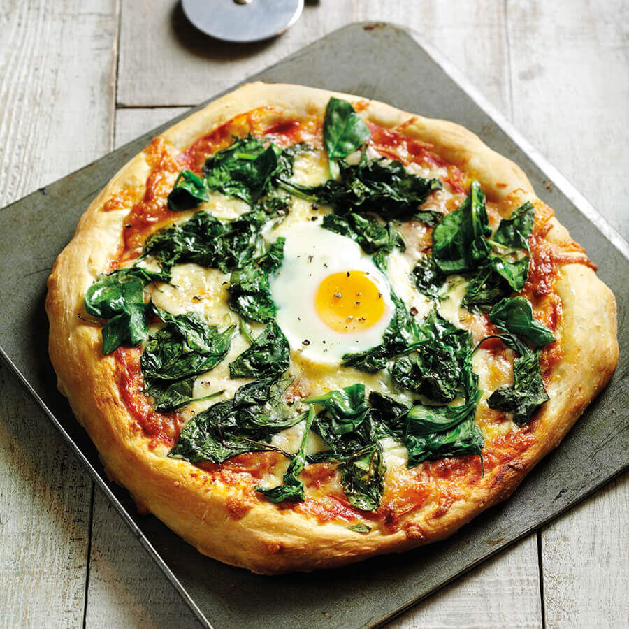 Picture of a Florentine Pizza