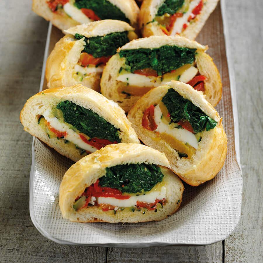Picture of Mediterranean Spinach Rolls