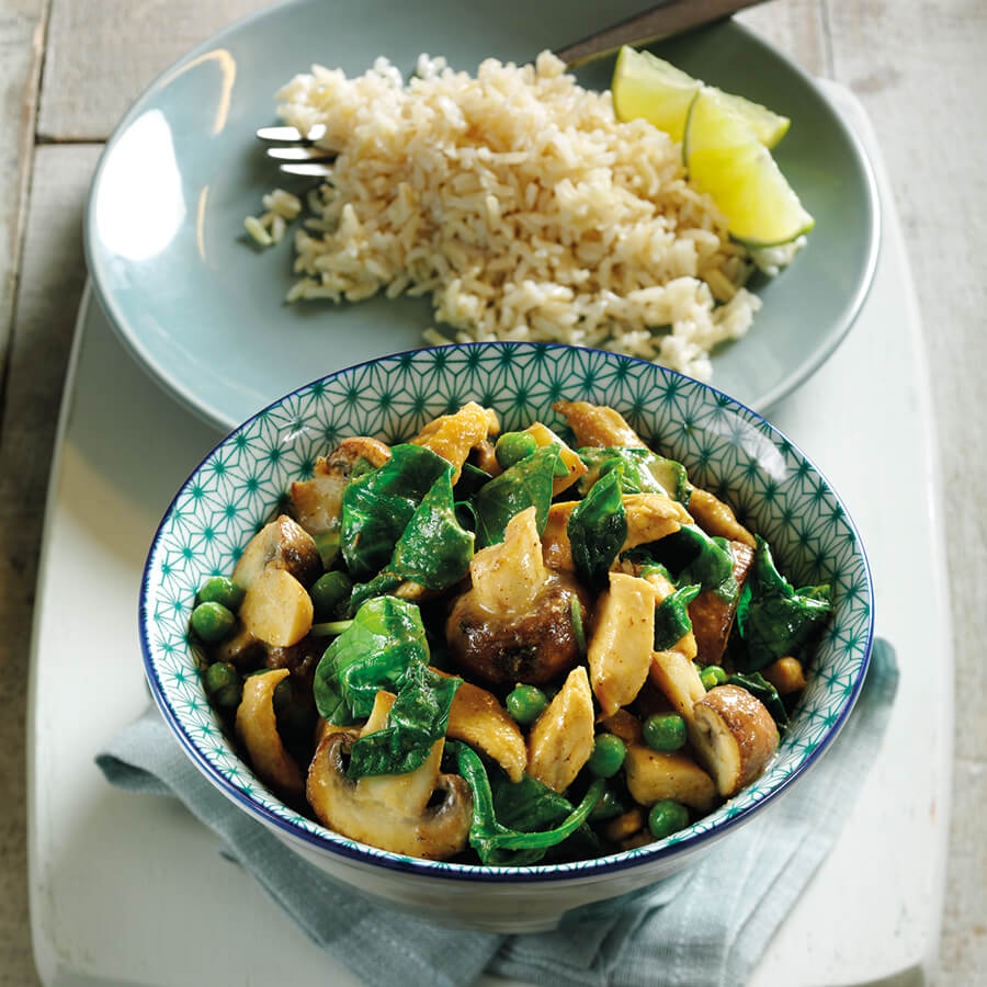 Picture of Thai Chicken & Spinach Curry