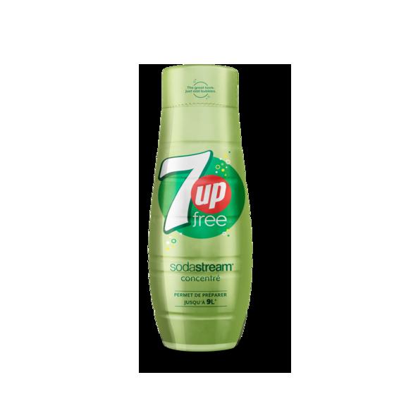 bouteille verte claire concentre 7 up free