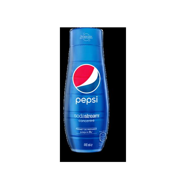 bouteille bleue pepsi