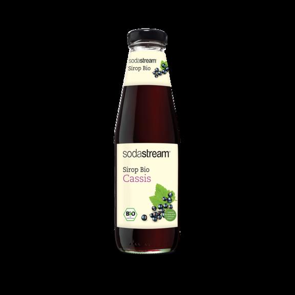 bouteille sirop bio cassis
