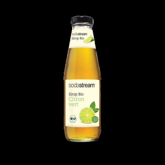 bouteille sirop bio citron vert