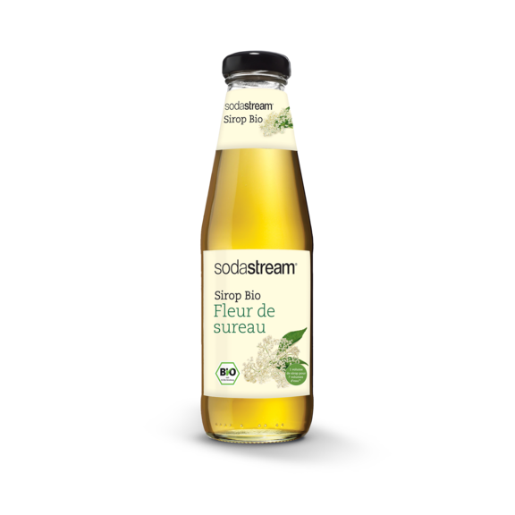 bouteille sirop bio fleur de sureau
