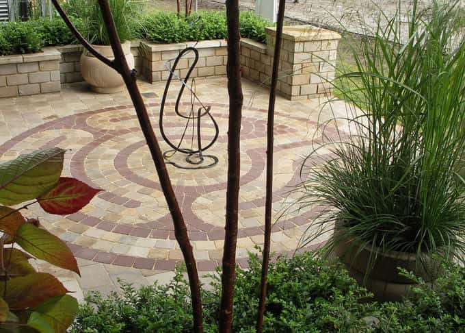 Elegant forms are combined and to great effect in the garden