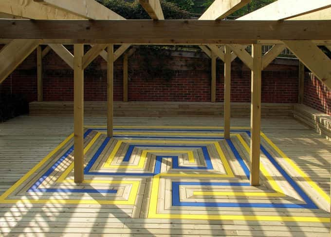 An unusual installation shows the versatility of decking