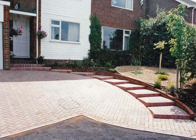 We design our driveways to look good