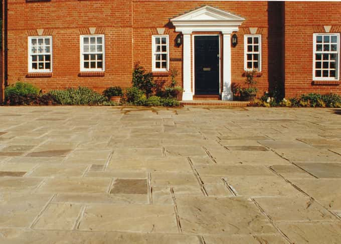 There are alternatives to block paving