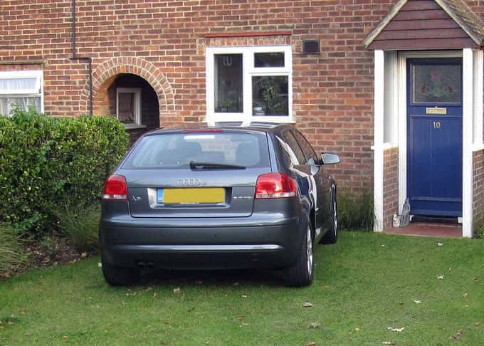 Our stabilised grass driveways will withstand everyday use