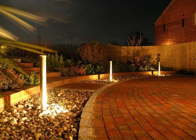 Lighting will extend your use of your garden