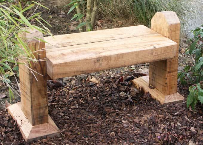 Original garden furniture