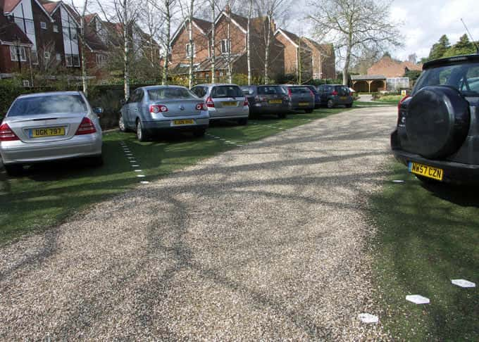 Stabilised gravel is suitable for private gardens or commercial situations