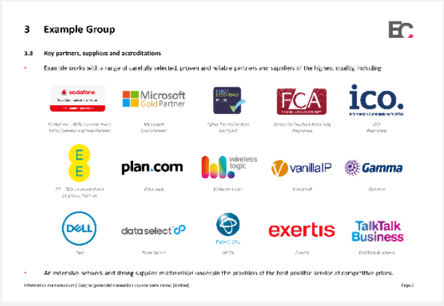Example group