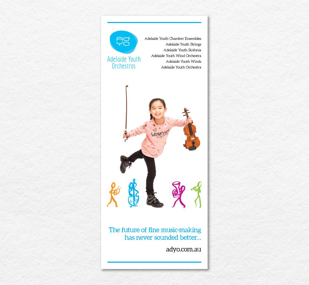 Adelaide Youth Orchestras (AdYO) : Signage