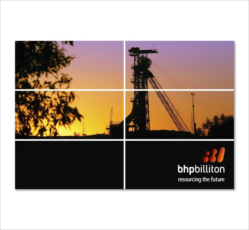 BHP Billiton : Signage