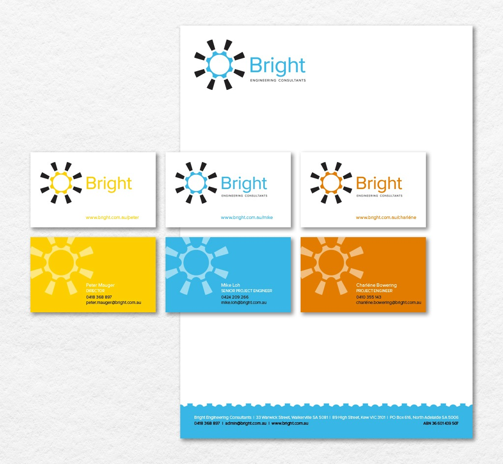 Bright Engineering Consultants : Stationery