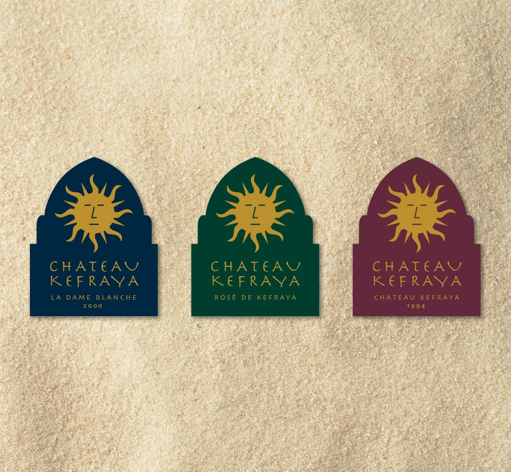 Chateau Kefraya : Wine Labels