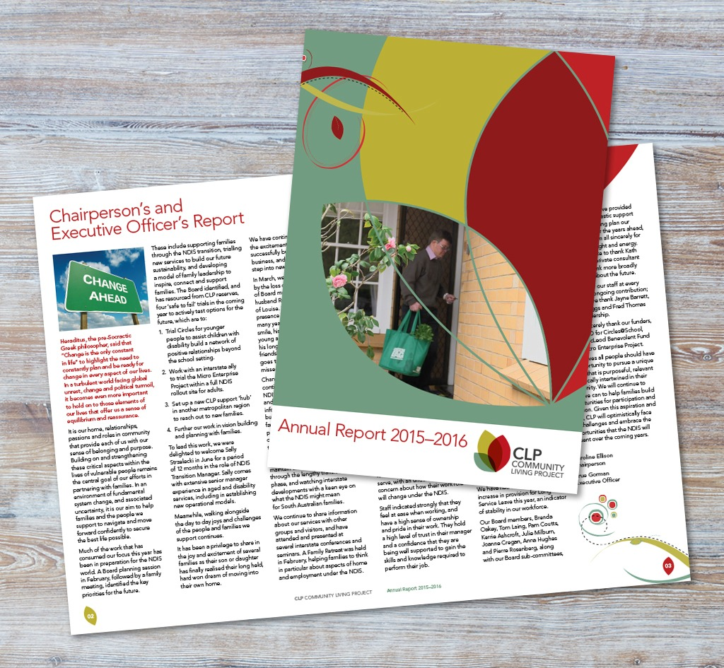 Community Living Project (CLP) : Annual Report